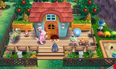 "Animal Crossing: Happy Home Designer- Marcie- ""A nursery school"". Visit in game: 0006-7759-047. #AnimalCrossing #ACHappyHomeDesigner #ACHHD"