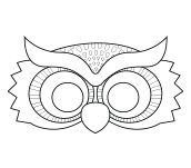 Printable Owl Mask - Coolest Free Printables Don\'t forget the beak ...