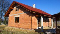Budowa domu na podstawie projektu Żabka 2 z pracowni MG Projekt - Montaż okien  #okna #budowa #projektdomu #mgprojekt