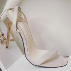 The Elodie Stiletto- Beige