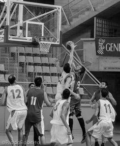 Apretó #CBCartagena en el tercer cuarto, 56-50 en el electrónico antes del periodo decisivo. #baloncesto #basket #Alicante #PretemporadaLucentum #Lucentum