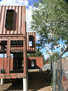 Jones-Glotfelty Shipping Container House