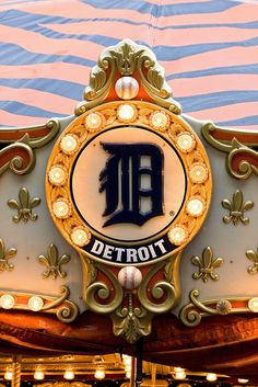 Detroit Tigers Carousel - a great ball park for the whole family!