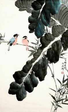(North Korea) by Kim Jae-hyeok (1940-  )