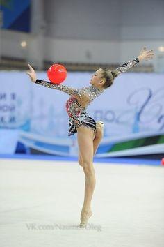 Aleksandra SOLDATOVA (RUS) Ball #rhythmic #gymnastics #ball