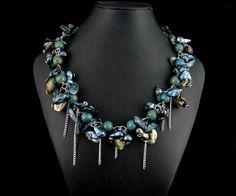 Shipwreck necklace $89.00 My Wife Is, Shipwreck, Beaded Jewelry, Studios, Jewelry Design, Pretty, Pearl Jewelry, Studio, Seed Beads