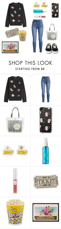 """""""Day 13 - 100 day Challenge"""" by sofifer ❤ liked on Polyvore featuring Marc Jacobs, Kate Spade, Casetify, Cinema Secrets and Lancôme"""