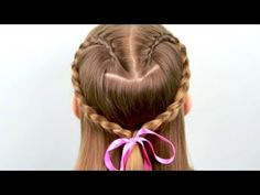 If I have a girl, I'm going to have to learn how to braid hair. This is SO cute.