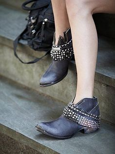 We love everything about these edgy boots!