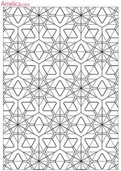 Антистрессовые раскраски распечатать для взрослых: орнамент, абстракция…