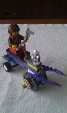 Lego Power Minners. Vehiculo extractor