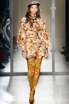 d22c01053f64 Look 31: Resistance Ruffle Shoulder Mini & Over the knee Zip Lycra boot  Australian Fashion
