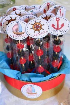 Ideas Baby Boy Shower Nautical Theme Decoration For 2019 Sailor Birthday, Boy Birthday, Fiesta Baby Shower, Baby Shower Parties, Baby Shower Marinero, Baby Shower Invitaciones, Nautical Party, Boy Decor, Baby Boy Shower