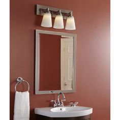 Allen Roth X Chrome Rectangular Framed Bathroom Mirror At Lowes The High Polished Finish Perfectly Fabricated Corners