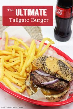 The Ultimate Tailgater Burger | Spiced