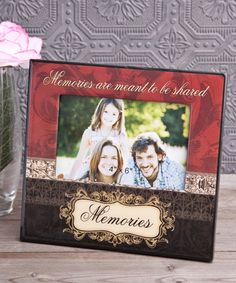 Memories Themed Picture Frame