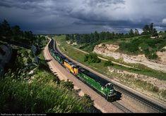RailPictures.Net Photo: BN 5054 Burlington Northern Railroad GE C30-7 at Belmont, Nebraska by Mike Danneman