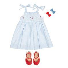 smock dress for girls