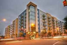 300 W Hargett St, Raleigh, NC , 27601 Walk Score: 88  Beautiful condo with 2 bedrooms. Very spacious and Gorgeous hardwood floors throughout and state of the art kitchen.