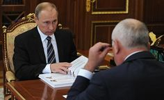 Meeting with Rostec State Corporation CEO Sergei Chemezov