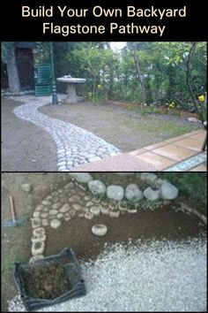Constant foot traffic is bound to wear down your garden. Unless youre going for a natural rustic look, youll have to make a pathway to keep people off your grass. How about this DIY flagstone pathway?  Since no flagstone pieces look like, youll end up with a unique structure that comes in all kinds of colors and shapes!  What do you think of this flagstone pathway project?