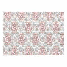 KESS InHouse Carolyn Greifeld 'Damask Splatter' Pink Gray Dog Place Mat, 13' x 18' >>> Don't get left behind, see this great dog product : Dog food container