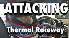 My PRO Driver Friend Racing Ferrari POV at Thermal Racetrack