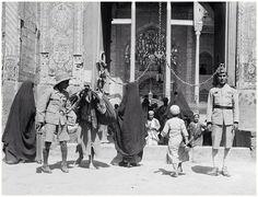 GOLDEN GATE OF THE HOLY SHRINE OF IMAM ALI as.  NAJAF, Iraq. Era:- 1930- 1935.