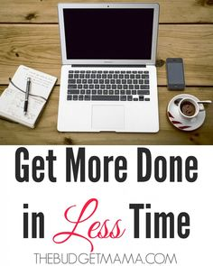 Need help finding balance as a WAHM or Blogger? Stop multitasking and start getting more done now. These tips will help you get more done in less time.
