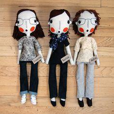 RESERVED Custom Dolls by simplijessi on Etsy, $121.00