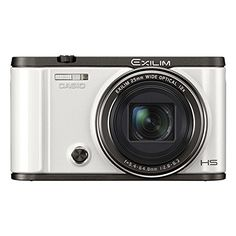 Casio Exilim EX-ZR3500 Compact Self-Portrait Digital Camera (White). Advanced high resolution imaging and anti-shake feature ensures outstanding photo results. Taking selfies is easy with the Tilt-type LCD & Front Shutter. Make-up Plus provides even higher quality images to enhance the expression of beauty. [EXILIM Auto Transfer] Auto send images to your smartphone at the press of a shutter button.