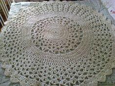 crochet carpet, virkattu matto