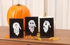 """Have the kids give you a """"hand"""" with this fun Halloween project."""
