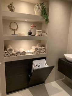 Home Interior Hallway .Home Interior Hallway Bathroom Design Luxury, Modern Bathroom Design, Spa Room Decor, Salon Interior Design, Bathroom Inspiration, Cheap Home Decor, Home Remodeling, Laundry Storage, Hidden Laundry