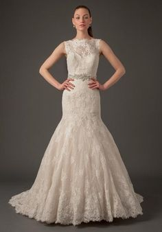 Danielle Caprese - Illusion Fit and Flare in Lace