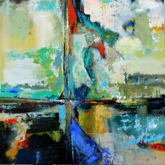DL Watson artist Contemporary Abstract Expressionist