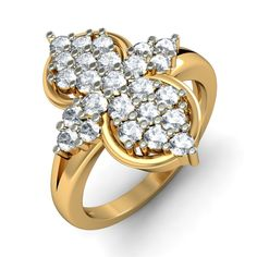 http://www.bluestone.com/rings/the-aphrodite-ring~588.html  A sensational arrangement of precious stones drawing inspiration from the traditional flower clusters. This spectacular ring will not only make you feel special, it will bring you good luck as well.