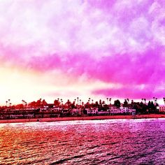 Santa Cruz view from Wharf
