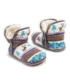 Another great find on #zulily! Bright Fleece Amira Slipper Slipper Booties - Women #zulilyfinds