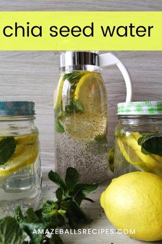 Healthy detox water chia seed water for amazing health benefits chia seed weight loss drink chia seeds for weight loss fat burning losing weight tips smoothies for weight loss fat burning blueberry coconut chia seed pudding Weight Loss Meals, Weight Loss Drinks, Weight Loss Smoothies, Healthy Weight Loss, Losing Weight, Healthy Detox, Healthy Drinks, Healthy Meals, Healthy Eating