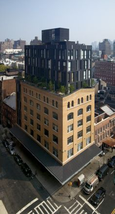 Porter House New York (USA) by SHoP Architects Copyright : seong kwon Cultural Architecture, Architecture Awards, Commercial Architecture, Architecture Old, Parasitic Architecture, Habitat Collectif, Level Design, Shop Architects, Roof Extension