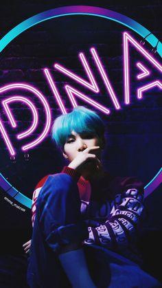 """DNA"" BTS Wallpaper Min Yoongi"