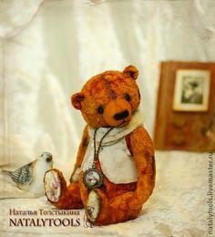 Рудик медведь-тедди.