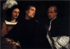 The Concert - Titian.  1510-12.  Galleria Palatina, Palazzo Pitti, Florence, Italy.