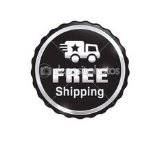 Silver Free Shipping Badge