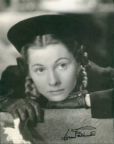 Joan Fontaine, The Constant Nymph. 1940s Movies, Old Movies, Vintage Movies, Olivia De Havilland, Best Actress, Actress Photos, Acting, Actresses, Memories