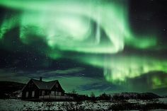 Aurora Borealis.I want to go see this place one day.Please check out my website thanks. www.photopix.co.nz