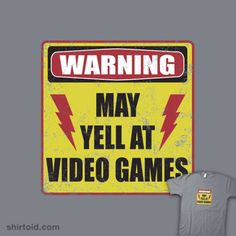 Gamer Warning. we need this in our living room. add may yell during saints and various soccer games also think i will make him one to match our living room http://berryvogue.com/homedecor