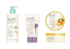 Lloydspharmacy Pure: Pharmacy Naturals Concept Packaging Design