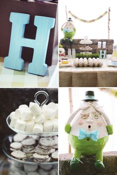Humpty Dumpty #nurseryrhyme Baby Shower & First Birthday Ideas!